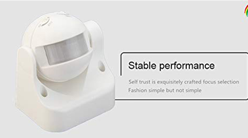 PIR Sensor with Light and Energy Saving Motion Detector Wall Mounted Switch